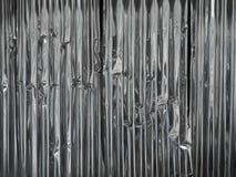 Piatto d'acciaio galvanizzato Fotografie Stock