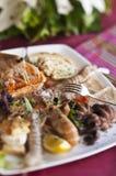 Piatto dei crostacei del crustaceansand Fotografia Stock