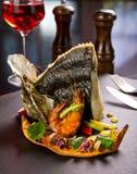 Piatto dei frutti di mare Immagini Stock