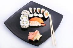 Piatto dei sushi Immagine Stock Libera da Diritti