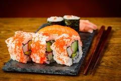 Piatto dei sushi Immagine Stock