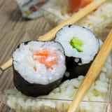 Piatto dei sushi Immagini Stock Libere da Diritti