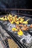 Piatto del barbecue Fotografia Stock