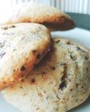 Piatto del chocolat del biscotto Immagine Stock