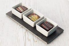 Piatto del cioccolato Immagini Stock