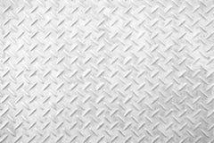Piatto del diamante del metallo Fotografia Stock
