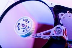 Piatto del drive del hard disk Fotografia Stock Libera da Diritti