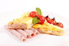 Piatto del pancake Fotografie Stock
