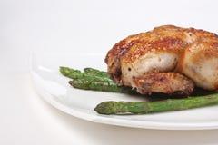 Piatto del pollo fritto fotografia stock libera da diritti