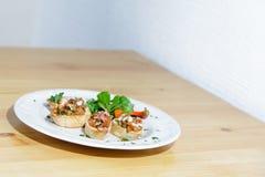 Piatto del pranzo Fotografie Stock