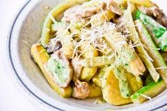 Piatto del ristorante, insalata operata Fotografia Stock