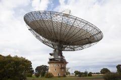 Piatto del telescopio radiofonico Fotografia Stock