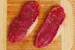 Piatto della bistecca Fotografia Stock Libera da Diritti