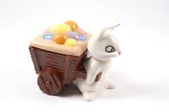 Piatto della caramella di Pasqua Fotografia Stock