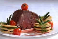 Piatto della carne Immagini Stock