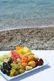 Piatto della frutta Immagini Stock Libere da Diritti