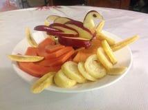 Piatto della frutta Immagine Stock Libera da Diritti