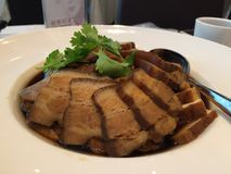 Piatto della pancia di carne di maiale Immagini Stock