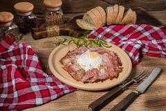 Piatto della prima colazione Immagine Stock