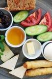 Piatto della prima colazione immagine stock libera da diritti