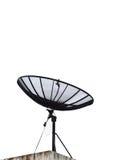 Piatto della ricevente satellite immagine stock