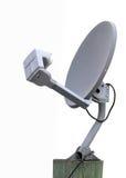 Piatto della ricevente satellite immagine stock libera da diritti