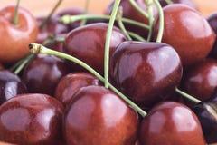 Piatto delle ciliege Fotografia Stock Libera da Diritti