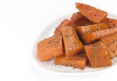 Piatto delle patate dolci Immagine Stock