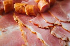Piatto delle salsiccie Fotografie Stock Libere da Diritti