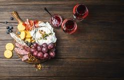 Piatto delle specialità gastronomiche fotografia stock
