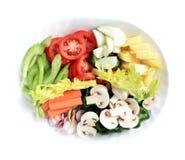 Piatto delle verdure Fotografia Stock