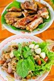 Piatto di alimento piccante tailandese Immagine Stock Libera da Diritti
