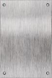 Piatto di alluminio Fotografie Stock Libere da Diritti