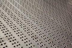 Piatto di alluminio del diamante dell'acciaio senza cuciture Fotografia Stock