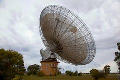 Piatto di astronomia radiofonica Fotografie Stock