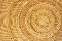 Piatto di bambù fotografia stock