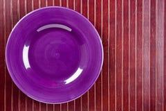 Piatto di ceramica Immagini Stock
