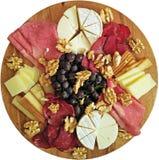 Piatto di formaggio Fotografie Stock