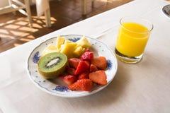 Piatto di frutta Immagine Stock Libera da Diritti