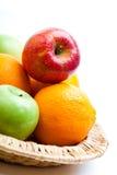Piatto di frutta Fotografia Stock
