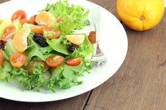 Piatto di insalata fresca Fotografia Stock Libera da Diritti