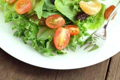 Piatto di insalata fresca Fotografie Stock