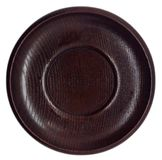 Piatto di legno giapponese vuoto immagini stock libere da diritti