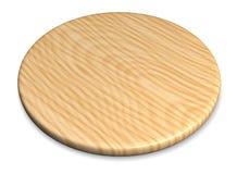Piatto di legno per carne e la verdura Fotografia Stock Libera da Diritti
