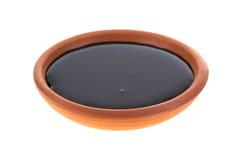 Piatto di melassa Fotografie Stock