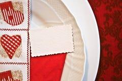 Piatto di Natale fotografia stock libera da diritti