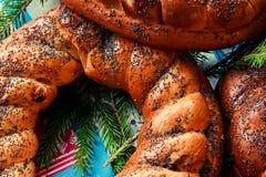 Piatto di Natale Immagini Stock Libere da Diritti