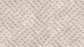 Piatto di pavimento del metallo con il modello del diamante illustrazione di stock