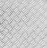 Piatto di pavimento del metallo con il modello del diamante Fotografia Stock Libera da Diritti