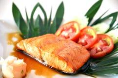 Piatto di pesci Fotografia Stock Libera da Diritti